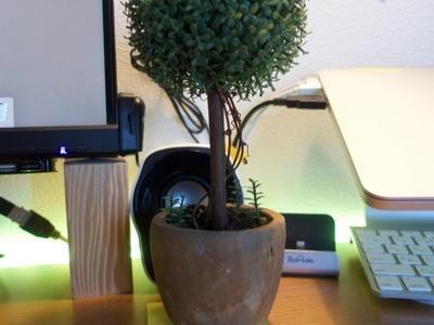 【観葉植物】光触媒の観葉植物で部屋の雰囲気を柔らかく且つ空気清浄の一石二鳥!