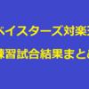 【横浜DeNA】ベイスターズ対楽天戦・練習試合結果まとめ/2月25日