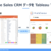 TableauでAirtable のSalesCRMの案件パイプラインを可視化