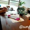 レッスンレポート)8/9本川町教室 どうしても編みたいんです。