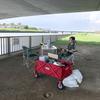 河原ピクニックにめざめました