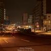 夜明け前の本川周辺
