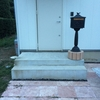 【無印良品の家】完成した玄関アプローチ