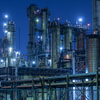 工場夜景を間近で撮影する 浮島町