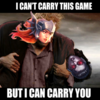 you can carry