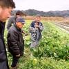 圃場見学に福島県へ。