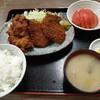 西川口の「あおき食堂」で唐揚げとヒレカツ定食を食べました★