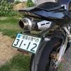 CBR600RR ユーザー車検いってきた。