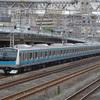 E233系1000番台(宮ウラ)試運転