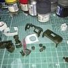 MG FAガンダム 上半身だけ塗装組み立て