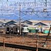 長野総合車両センター廃車置場周辺(2/21)