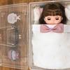 【ソランちゃん】洋服収納も兼ねたお布団を手作り*収納BOXへ入れ、ベッド風に♪
