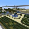 【Minecraft】イギリス庭園とフランス庭園のある公園【建築紹介】