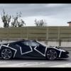 フェラーリファクトリーの近くで目撃されたのはV6ハイブリッドカーのテスト車両か?ボディーカラーは例のブラック塗装