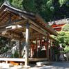 滝畑ダム周辺を探索3(神社とバーベキュー場)