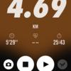 2018/02/14のトレーニング(ラン4.7km&自重)