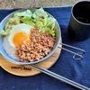 メスティンで簡単キャンプ飯!【やきとり缶詰炊込み御飯】と【お手軽ガパオライス】