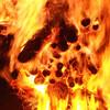 谷保天満宮の奇祭「おかがら火」