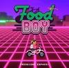 Foodboy バイクに乗りながら食べ物を投げて配達するアクションゲーム
