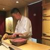 【くろ﨑】シャンパーニュや日本酒との絶妙マリアージュ、鮨とつまみが交錯する一つ星の口福鮨