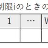 DPL_1_C「ナップザック問題」