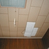 洋間の天井張り替え事例