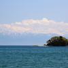 富山湾越しの立山連峰