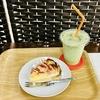 八食センター カフェのアップルパイ