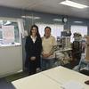 ジェシカ・アレクサンダーさんの台風19号被災地訪問(令和元年台風被災者支援)