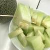 試食 肥後グリーンメロン