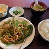 【秀味軒】日替わり 青椒肉絲定食