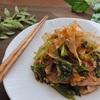 豚肉と小松菜の塩麹おかか炒め【#豚肉  #小松菜 #塩麹 #レシピ #簡単】
