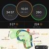 【甲府5日前】10kmで最後の調整、設定35分