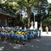 さきとり幼稚園の大祓式が行われました