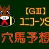 【GⅢ】ユニコーンS 結果