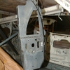 1971 マスタングマッハ1 右クォーターポスト裏板修復3 「必殺錆封じ」とPOR-15