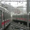 4年前の中目黒駅にて。/2012年