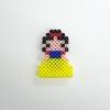 【アイロンビーズ】ディズニープリンセスより、白雪姫(白雪姫)