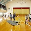 02/17(日) スラックライン体験会 in 南内越コミュニティ体育館