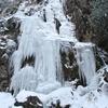 氷の難所ヶ滝【宝満山】【福岡】【冬】