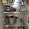 冷蔵庫の中がすっきりしてきた