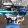 TW200のレギュレーター・バッテリー交換
