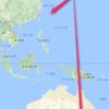 メルボルン(OKA-MEL)旅行記1 - 旅程