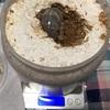 オオクワガタ(能勢YG)の幼虫達を菌糸ビンへ入れ替え