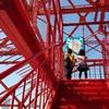 東京タワーを子供と一緒に歩いて登ってみた