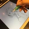かみなし子初めてのCG?iPad ProとApple Pencilでお絵描きしてみたよ