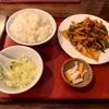 中区伊勢佐木町の「大東北」でラム肉のクミン炒め定食