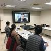 台湾の淡江大学日本政経研究所の皆さんにオンラインで講演
