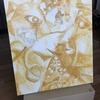 高校の授業で1回やっただけの油絵初心者でも下塗りはなんとかできる
