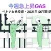 今週急上昇GAS【ベトナム株投資・2021年10月第1週】